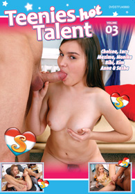 DVD Teenies Hot Talent